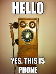 Old Phone Meme - old phone blank template imgflip