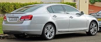 lexus sedan list 2006 lexus gs 450h file2006 2009 gws191r sedan 01 jpg 2009