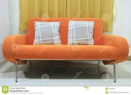 Orange Sofa Living Room by Orange Sofa Royalty Free Stock Photography Image 34535607
