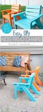 Easy Diy Patio Furniture by Easy Diy Kids Patio Chairs A Houseful Of Handmade