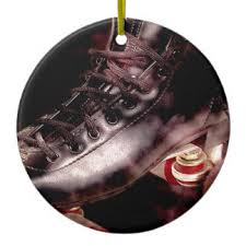 leather ornaments keepsake ornaments zazzle