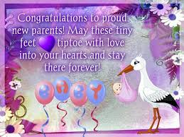 congratulations on new card to proud new parents free new baby ecards greeting cards 123