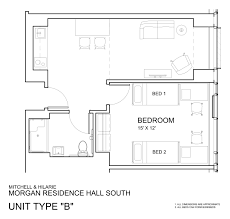 residential floor plans morgan hall university housing and residential life