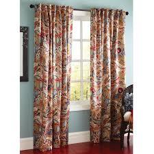 Paisley Curtains Vibrant Paisley Back Tab Curtain Paisley Curtains Dining Room