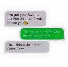Jake State Farm Meme - dopl3r com memes ive got your favorite panties on cant wait