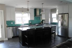 Exquisite Creative Teal Subway Tile Backsplash Best  Teal - Teal glass tile backsplash