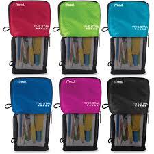 pencil pouches five 50516 standing pencil pouch puncture resistant fabric