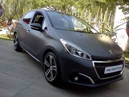 peugeot 208 2016 on the road peugeot 208 gt line facelift www in4ride net