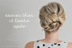 step by step easy updos for thin hair easier than it looks updo tutorial the small things blog