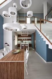 modern design house with two floors modern decor home decoration