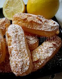 emission cuisine michalak mini éclairs au citron crémeux au citron de christophe michalak