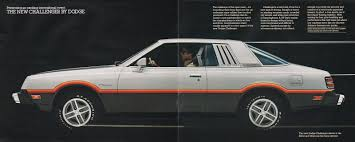 mitsubishi dodge challenger these cars must never lose the retro look or they will