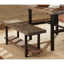 alaterre furniture pomona rustic natural bench amba0320 the home