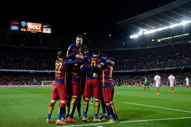 la liga table 2015 16 la liga 2015 16 barcelona face valencia with top spot in the table