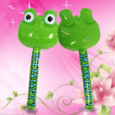 online shop inflatable frog hammer kids inflated toys stick