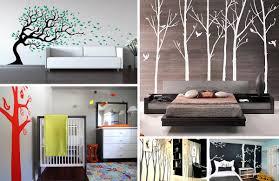 creative forest walls decals natural original decorations