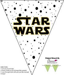 banner wars decorations free printable ideas