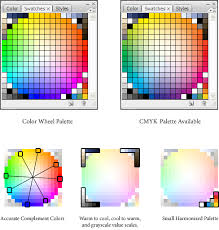 color swatches the blog of glen moyes color wheel swatches for photoshop and