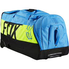 ogio motocross gear bags fox racing 2016 shuttle roller gear bag blue yellow available at