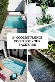 Coolest Backyards 34 Coolest Plunge Pool Ideas For Your Backyard Gardenoholic