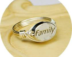family ring family rings etsy