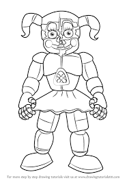 nights freddy u0027s coloring pages circus baby coloring