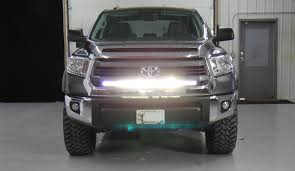 How To Install Led Light Bar On Roof by Stealth Light Bar Install For 2015 Toyota Tundra Better