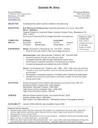 Teachers Resume Sample by Example Of Cooperative Education Resume Http Exampleresumecv