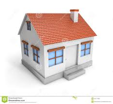 3d simple house stock illustration image 42777805