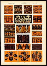 antique print tiles motifs historical artifacts