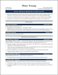 Hr Executive Resume Sample by Resume Templates Picmia
