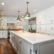 kitchen island painted gray transitional kitchen benjamin moore