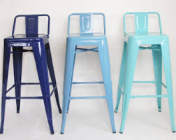 custom painted tolix style stool in the color of your choice