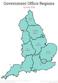 Map Of England And Scotland by What Would The Regions Of England Look Like In A Federal Uk