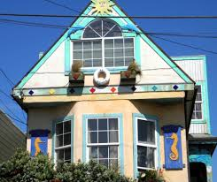 Exterior Home Painting Ideas Painted Houses U0026 Exterior Home Painting Ideas With A Sea Theme