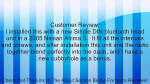 nissan altima 2005 double din metra 99 7419 single din installation kit for 2005 2006 nissan