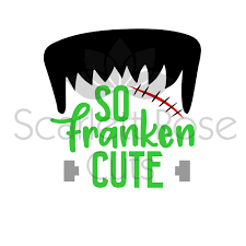 cute halloween images so franken cute halloween frankenstein svg cut file for silhouette