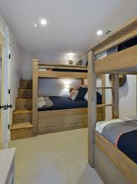 Bunk Bed With Storage Stairs 47 Cabin Bed With Stairs Cabin Bed Over Stair Box Bedrooms