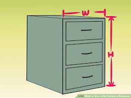contact paper file cabinet 4 ways to give a file cabinet a makeover wikihow