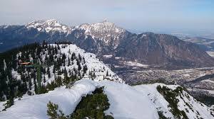 Predigtstuhl Bad Reichenhall Skidurchquerung Lattengebirge Predigtstuhl Hochschlegel Schreck