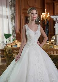 027 gorgeous handmade ball gown wedding dress decorated by hands