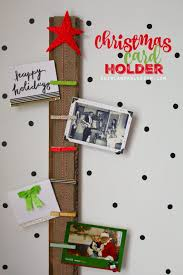 easy card holder with clothespins fabulous