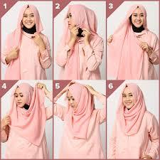 tutorial hijab segi empat paris simple tutorial hijab segiempat simple dan trendy muslimarket blog