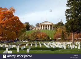 Arlington Cemetery Map Autumn In Arlington Cemetery Washington Stock Photos U0026 Autumn In