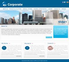 corp corporate theme drupal org