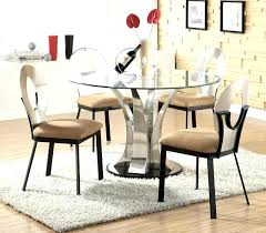 glass breakfast table set round glass dining table and chairs glass dining room tables full