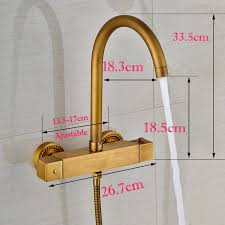 mixing valve for hand sink square thermostatic mixer valve bathtub faucet wall mounted with