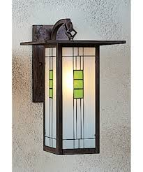 Mission Wall Sconce Arroyo Craftsman Fb 9l Franklin 9 Inch Wide 1 Light Outdoor Wall