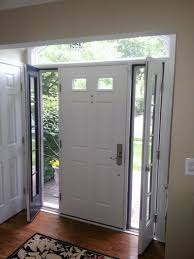 Vented Exterior Door Entry Doors With Vented Sidelites Home Design Hay Us