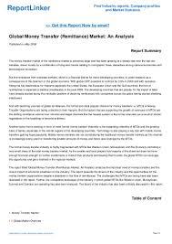 global money transfer remittance market an analysis